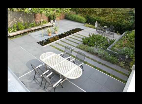 Tuin en terras voorbeeld 2